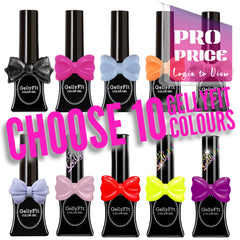 GellyFit SPECIAL - Choose 10 Colours