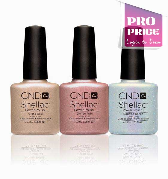 CND Shellac - Gilded Dreams Collection