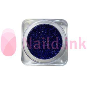 Fine Nail Art Glitter - Dark Blue