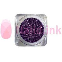 Fine Nail Art Glitter - Dark Purple