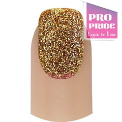 Gelish DIP Powder - Glitter & Gold
