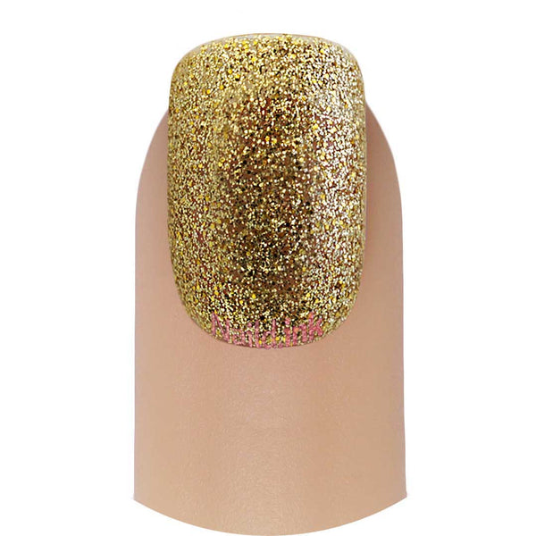 Color Club Nail Lacquer - Gold Glitter