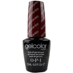 OPI GelColor - Got The Blues For Red