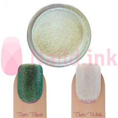 CND Additives - Green Gold Sparkle