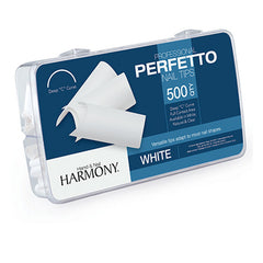 Harmony Perfetto Professional Nail Tips - White (500 count)