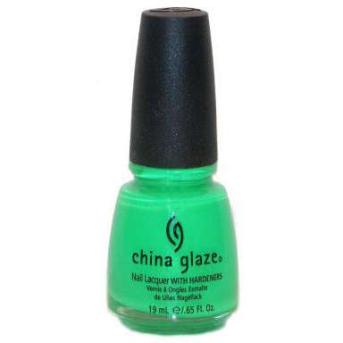 China Glaze Nail Lacquer - In The Lime Light