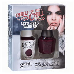Gelish Two Of A Kind - Let's Kiss & Warm Up (Thrill Of The Chill Collection)