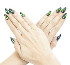 Nailhur Snap On Manicure - Envy (Stiletto)