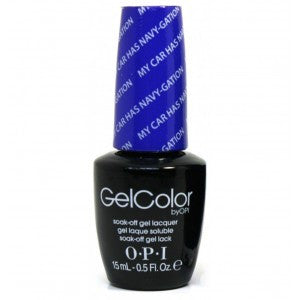OPI GelColor - My Car Has Navy-Gation