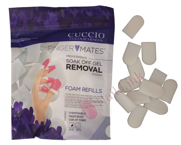 Cuccio Finger Mates - Refill Pack of 50 Pads