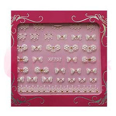 Nail Art Stickers - Bows