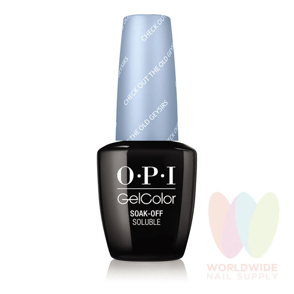 OPI GelColor - Check Out The Old Geysirs