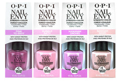 OPI Nail Envy Strength + Colour Nail Strengthener (Choose)