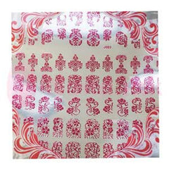 Nail Art Stickers - Pink