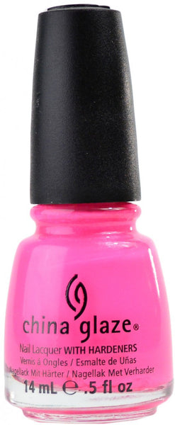 China Glaze Nail Lacquer - Pink Voltage