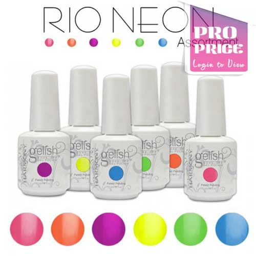 Gelish - Rio Neon Collection
