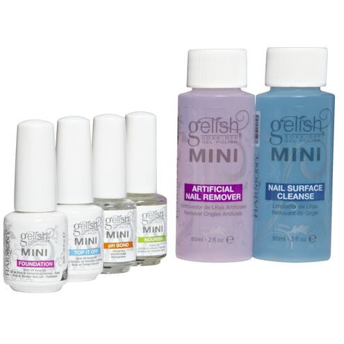 Gelish - Professional Starter Kit with Harmony 18G LED Lamp (incl. 3 Colours)