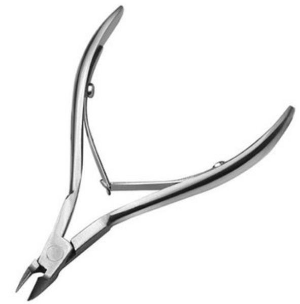 Stainless Steel Cuticle Pusher & Cuticle Nipper Set