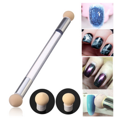 Double Sided Nail Art Sponge Pen