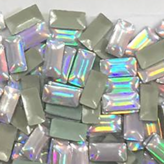 Holographic Rectangle Studs