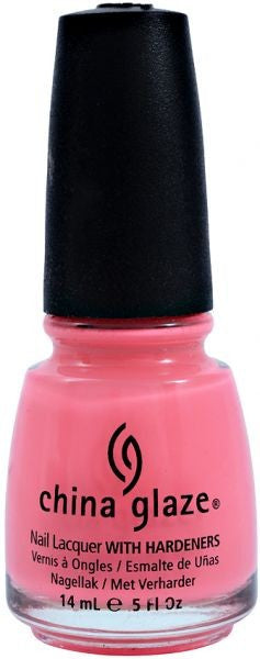 China Glaze Nail Lacquer - Shocking Pink
