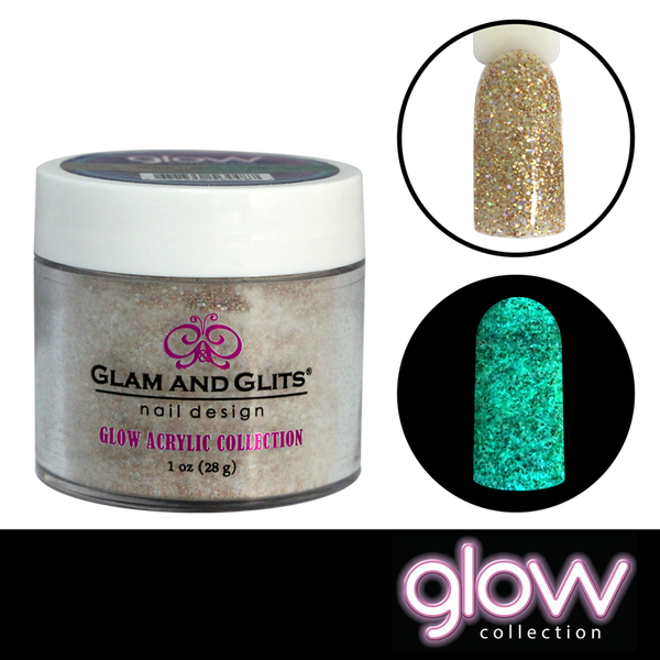 Glam and Glits Glow Acrylic Powder - Shooting Star