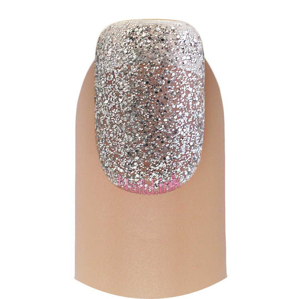 Color Club Nail Lacquer - Silver Glitter