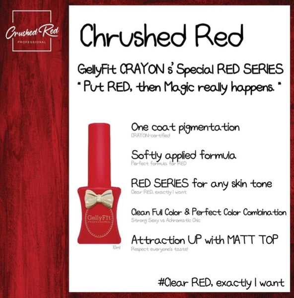 Gellyfit Crushed Red Collection