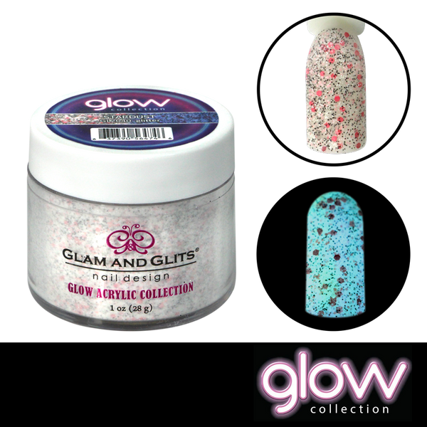 Glam and Glits Glow Acrylic Powder - Stardust