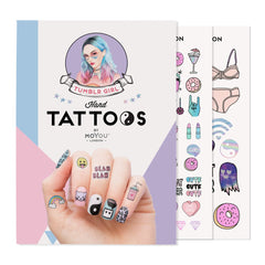 MoYou London Tattoos Hand - Tumblr Girl