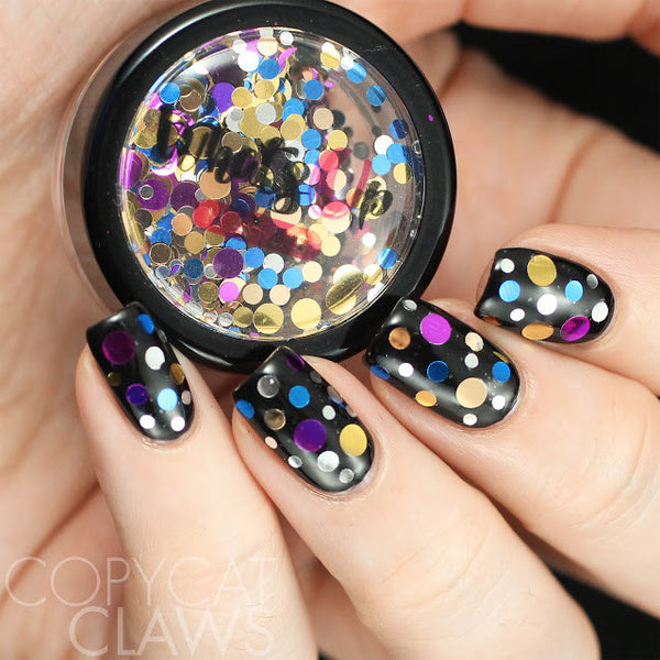 Whats Up Nails Disco Confetti