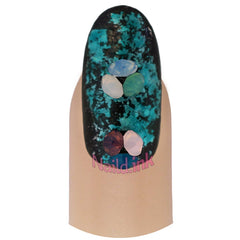 Wheel with Cone Rhinestones - Matte Effect