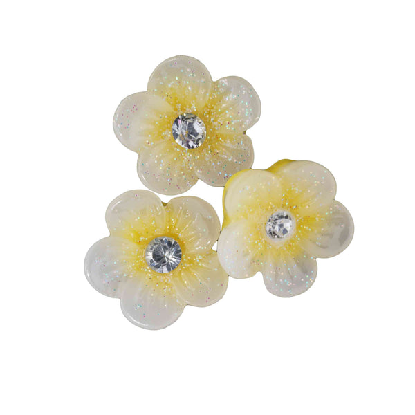 Resin Flower - Yellow