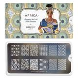 MoYou London Stamping Plate - Africa 10