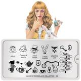 MoYou London Stamping Plate - Alice In Wonderland 02