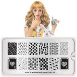 MoYou London Stamping Plate - Alice In Wonderland 03