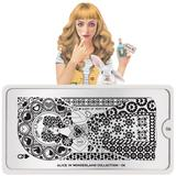 MoYou London Stamping Plate - Alice In Wonderland 06