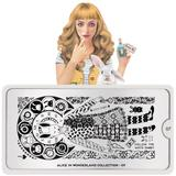MoYou London Stamping Plate - Alice In Wonderland 07