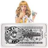 MoYou London Stamping Plate - Alice In Wonderland 08