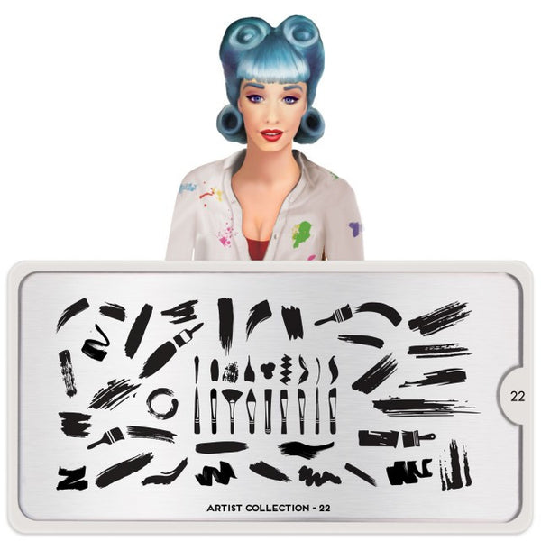 MoYou London Stamping Plate - Artist 22