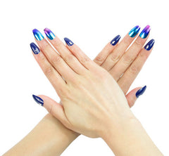 Nailhur Snap On Manicure - Aurora (Squaletto)