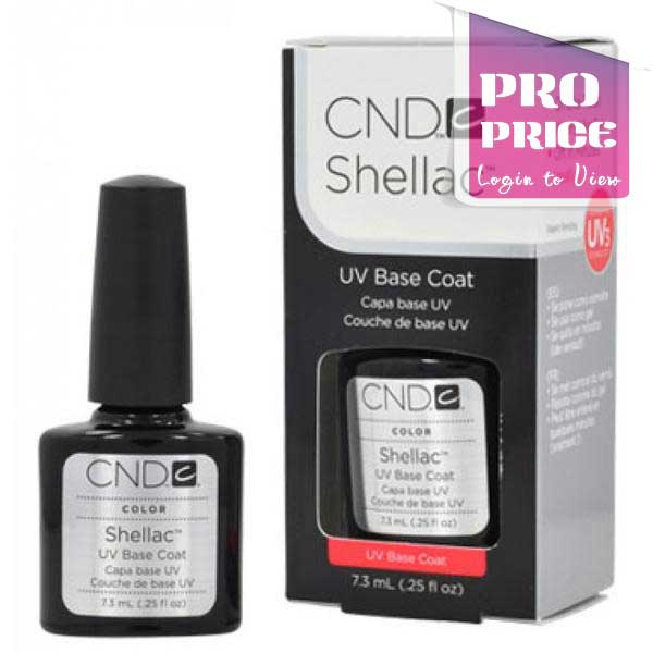 CND Shellac Base Coat (7.3ml or 12.5ml)