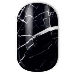 Miss Sophie's Nail Wraps - Black Marble