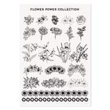 MoYou London Tattoos Hand - Flower Power