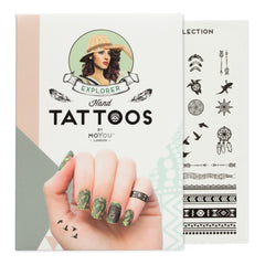 MoYou London Tattoos Hand - Explorer (Black 01)