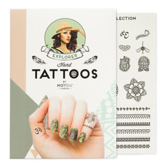 MoYou London Tattoos Hand - Explorer (Black 02)