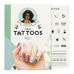 MoYou London Tattoos Hand - Hipster (Black 02)