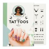 MoYou London Tattoos Hand - Hipster (Black 01)