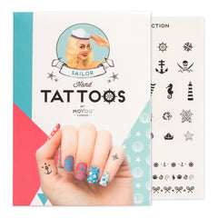MoYou London Tattoos Hand - Sailor (Black 01)