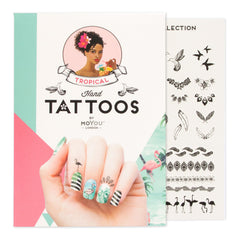 MoYou London Tattoos Hand - Tropical (Black 01)